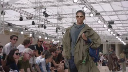 Listen: New Drake song premieres at Louis Vuitton fashion show