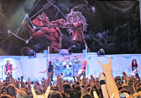 As Iron Maiden prepares for its return to the AT&T Center on Saturday night, San Antonio fans voted for their favorite all-time tracks from
