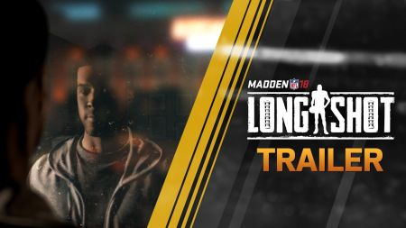 EA Sports debuts 'Longshot' mode for Madden NFL 18 at E3