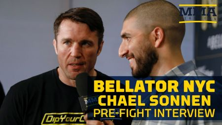 Bellator NYC: Sonnen says New York City is 'filthy' and 'disgusting'