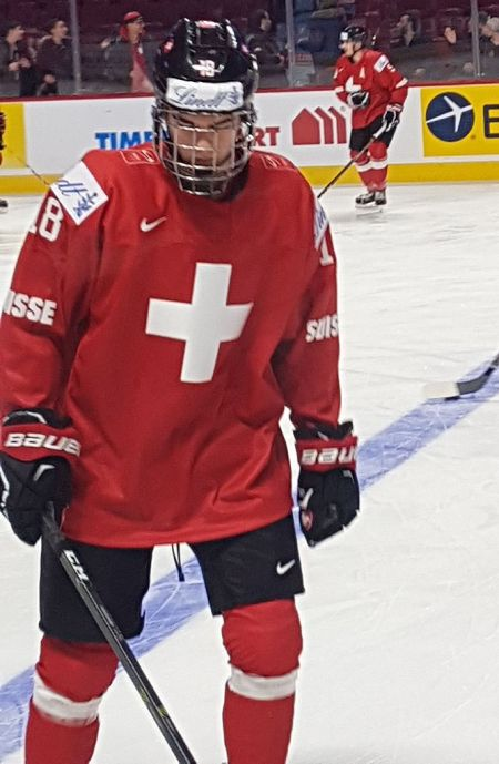 Swiss Hockey History Made In The 2017 National Hockey League Entry