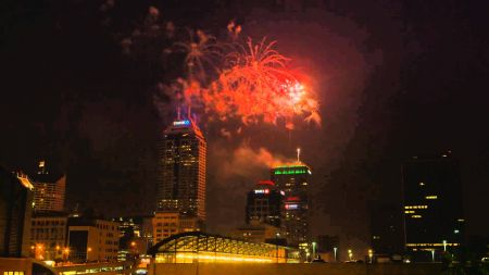 Where to watch July 4th fireworks in Indianapolis 2017