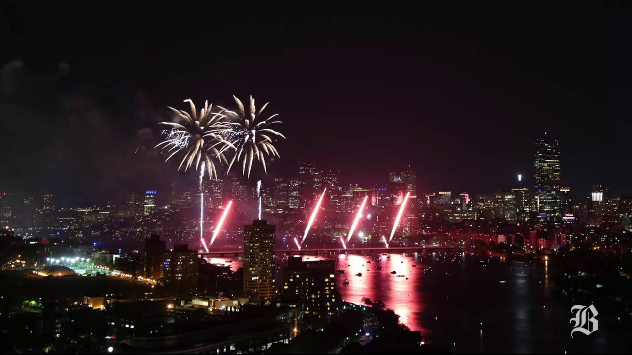 Where to watch July 4th fireworks in Boston 2017