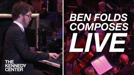 Watch Ben Folds compose a song live for orchestra in 10 minutes