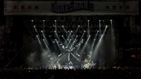Rascal Flatts perform live at 2017 Country LakeShake Festival in Chicago