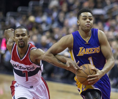 Former Lakers guard D'Angelo Russell gets a fresh start with the rebuilding Brooklyn Nets.