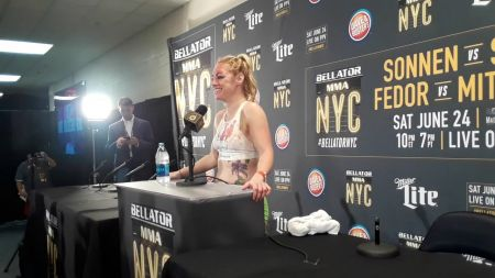 Heather 'The Heat' Hardy in no rush for Bellator title shot