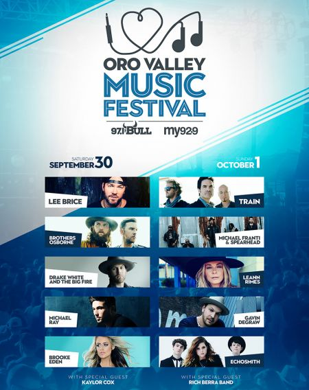 2017 Oro Valley Music Festival lineup
