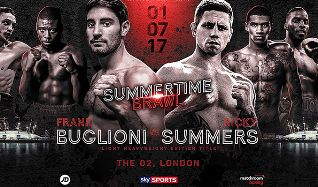 A Night of Championship Boxing: Frank Buglioni vs Ricky Summers tickets at The O2 in London