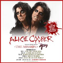 Alice Cooper tickets at The SSE Arena, Wembley in London