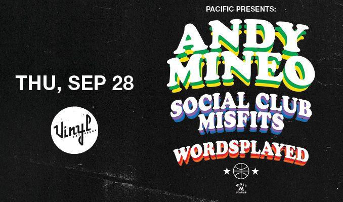 Andy Mineo tickets at Vinyl at Hard Rock Hotel & Casino Las Vegas in Las Vegas