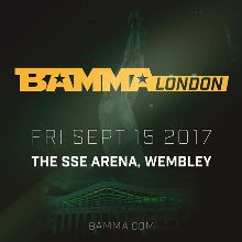 BAMMA tickets at The SSE Arena, Wembley, London