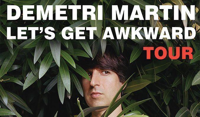Demetri Martin tickets at Keswick Theatre in Glenside