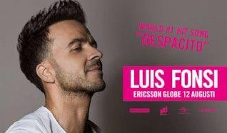 Luis Fonsi tickets at ERICSSON GLOBE/Stockholm Live in Stockholm