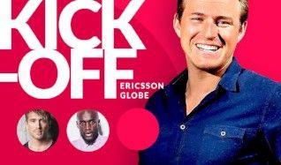 KICK-OFF Ericsson Globe 2017 tickets at ERICSSON GLOBE/Stockholm Live in Stockholm