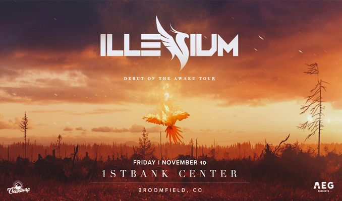 Illenium tickets at 1STBANK Center in Broomfield