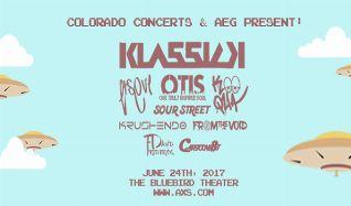 Klassick, ITsEvi, Koo Qua, OTIS tickets at Bluebird Theater in Denver