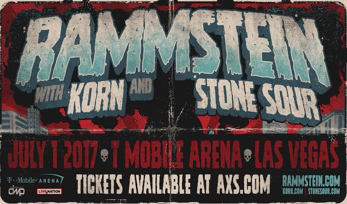Rammstein tickets at T-Mobile Arena in Las Vegas
