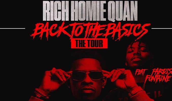 Rich Homie Quan tickets at El Rey Theatre in Los Angeles