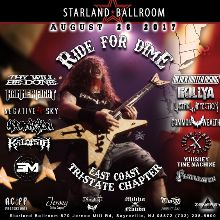 Ride For Dime tickets at Starland Ballroom in Sayreville