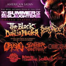 The Black Dahlia Murder (performing Nocturnal in full), Dying Fetus, Oceano, Slaughter to Prevail, Origin, Rings of Saturn, Betraying the Martyrs, Lorna Shore, The Faceless tickets at The Novo by Microsoft in Los Angeles