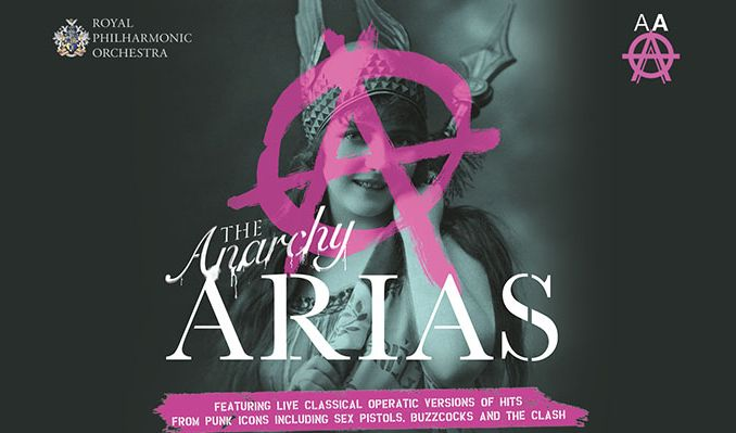 The Anarchy Arias tickets at London Palladium in London