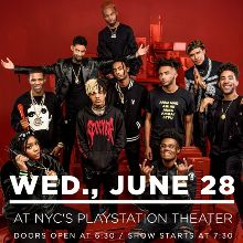 XXL Freshmen  tickets at PlayStation Theater in New York