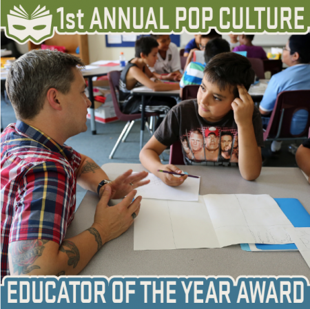 Denver Comic Con: Pop Culture Classroom Educator of the Year award to be given