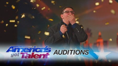Interview: Christian Guardino and his mom talk singing, Simon Cowell, and 'incredible' Golden Buzzer moment