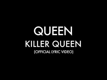 Watch: Queen release new official lyric video for 'Killer Queen'