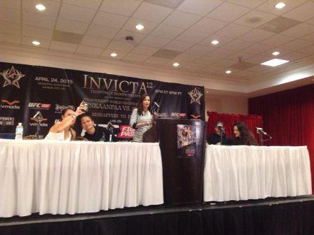 Raquel Pa'aluhi fights at Invicta FC 25