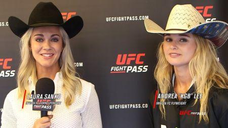 Surging MMA star Andrea Lee gets surprise tweet from Cowboys quarterback Dak Prescott
