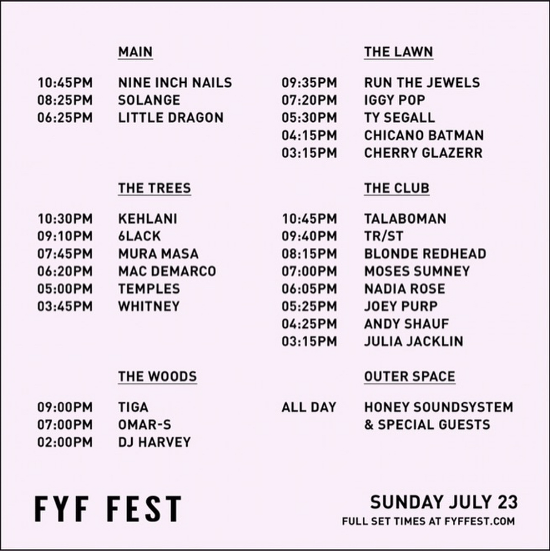 Courtesy of FYF/ Goldenvoice