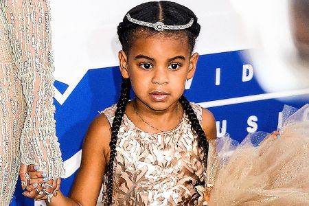 """Blue Ivy Carter drops a freestyle rap on""""Blue's Freestyle/We Family"""" on Jay-Z's 4:44."""