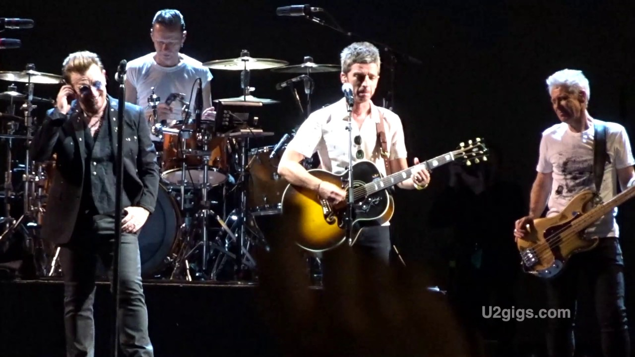 Watch: U2 and Noel Gallagher perform together in London
