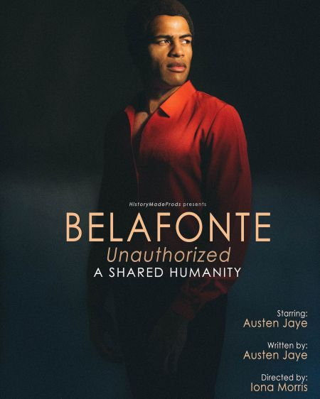 A new one-man show on the life of Harry Belafonte