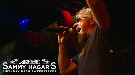 Win a trip to Sammy Hagar's Birthday Bash in Cabo via Mercury Insurance sweepstakes