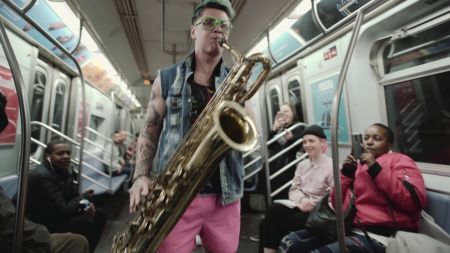 Too Many Zooz take a ride on the NYC subway in new music video 'Bedford'