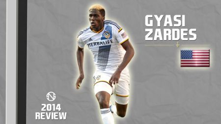 Gyasi Zardes representing the United States at 2017 Gold Cup
