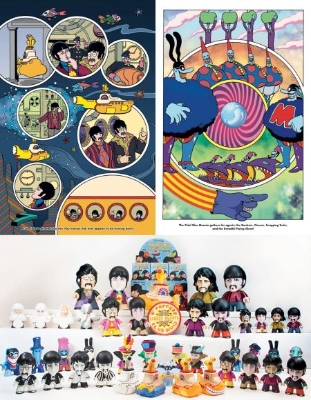 Veteran comic artist to draw new 'Yellow Submarine' graphic novel for film's 50th anniversary next year