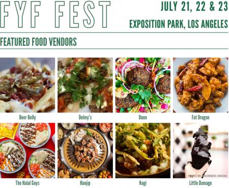 FYF Fest 2017: Food lineup released