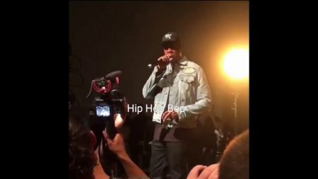 Watch JAY-Z speak at Vic Mensa's album listening party