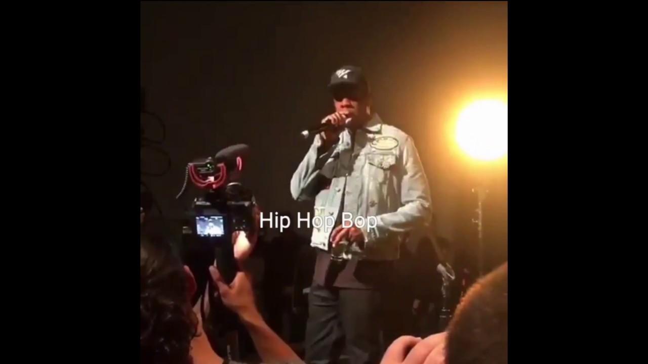 Watch JAY-Z speak at Vic Mensa's album listening party