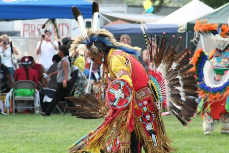 Liberty Park Pow Wow on Pioneer Day