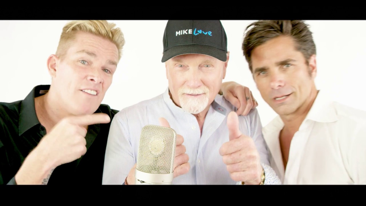 John Stamos, Mark McGrath and Mike Love remake 'Do It Again' video by the Beach Boys