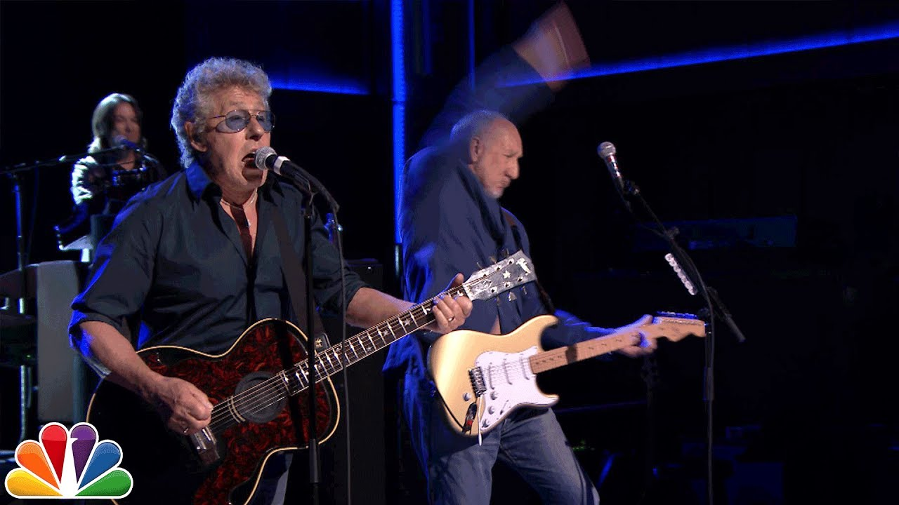 Watch: The Who perform 'I Can See for Miles' on 'The Tonight Show'