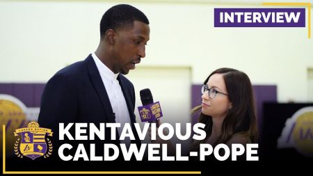 Kentavious Caldwell-Pope hopes to bring 'leadership' to the Lakers