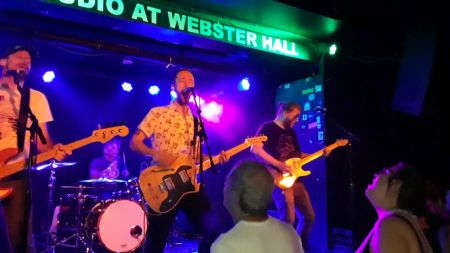 Video: Fafalios' bass mastery highlights Punchline's Webster Hall show