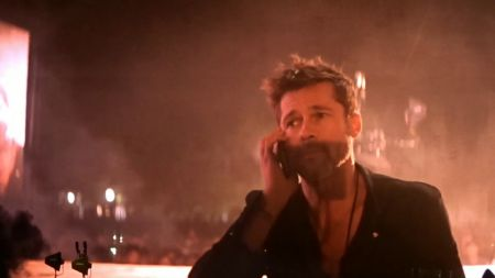 Watch: Frank Ocean brings out Brad Pitt, slays hearts on day two of FYF 2017