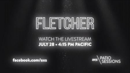Next up on the AXS Patio Sessions: FLETCHER